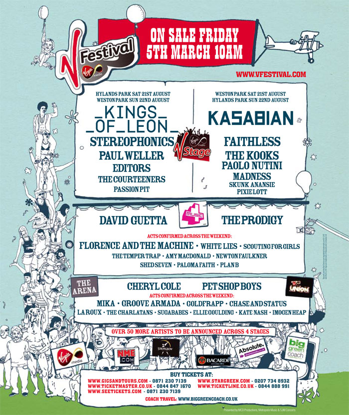 Nme Tour  Lineup