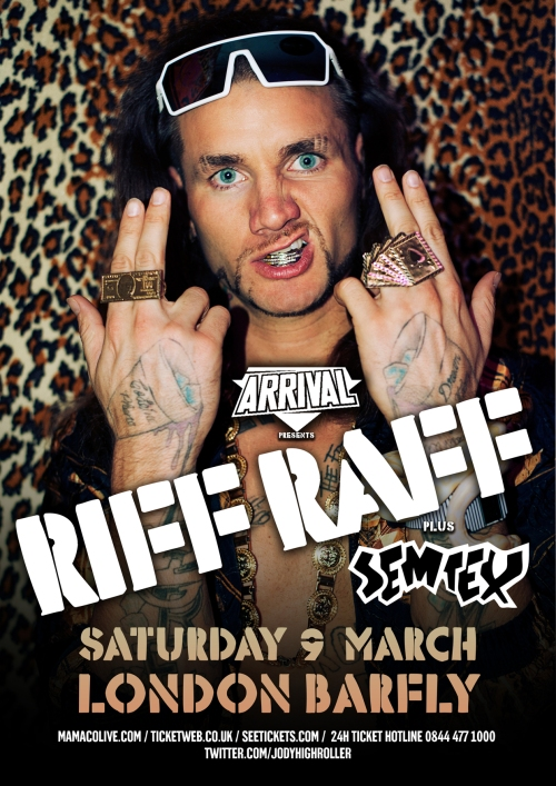 Riff Raff first London show